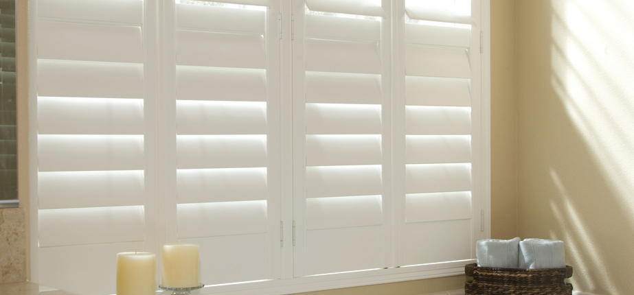 Plantation shutters faux wood shutters miami fl vinyl faux wood shutters - Home depot window shutters interiors ...